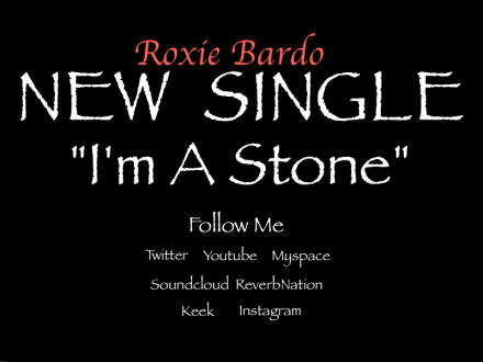Purchase Roxies latest singles on iTUNES & Amazon!